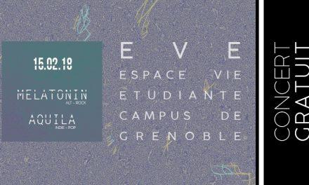 Aquila en concert à EVE à Grenoble